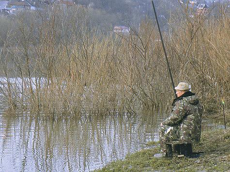Рыбалка весной, фото