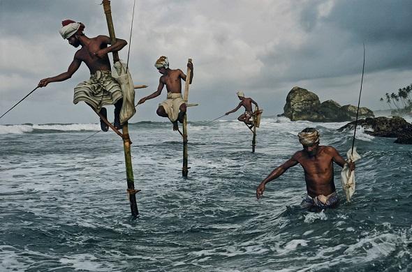 Рыбалка на шестах