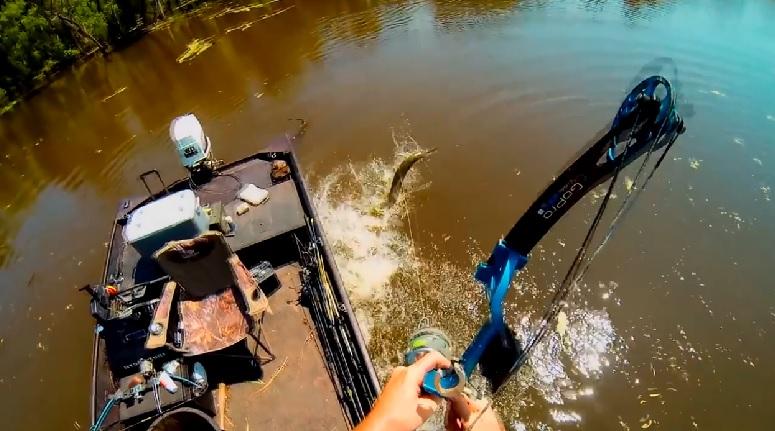 Рыбалка с луком
