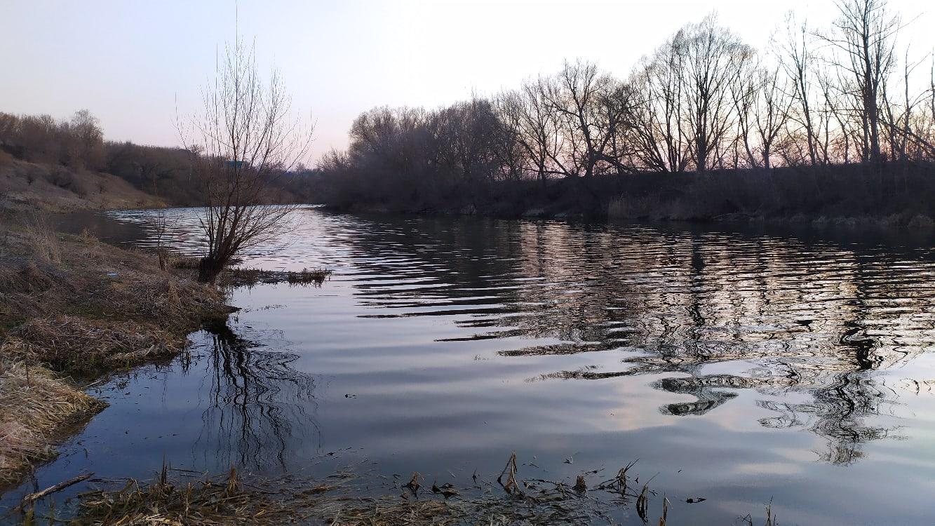 Рыбалка-март